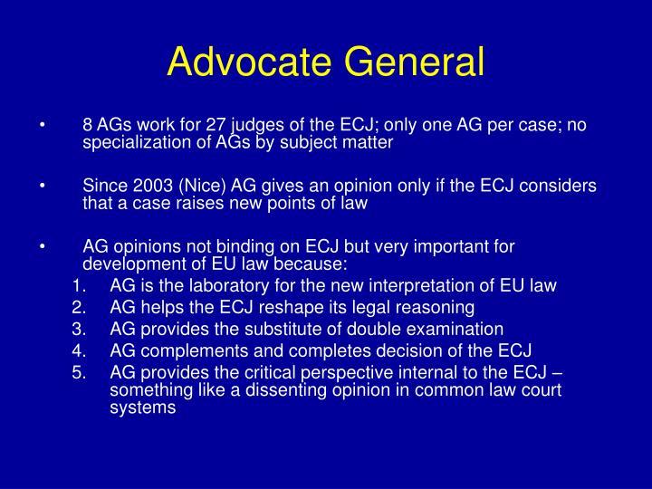 Advocate General