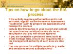 tips on how to go about the eia process1