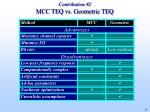 contribution 2 mcc teq vs geometric teq