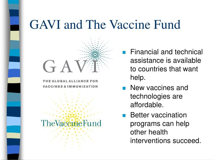 GAVI and The Vaccine Fund