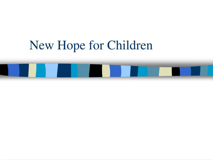 New Hope for Children