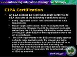 cipa certification