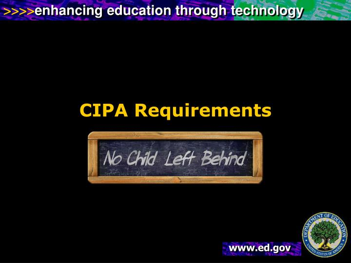CIPA Requirements