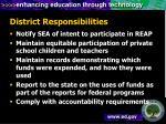 district responsibilities