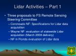 lidar activities part 1