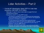 lidar activities part 2