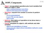 oopl components
