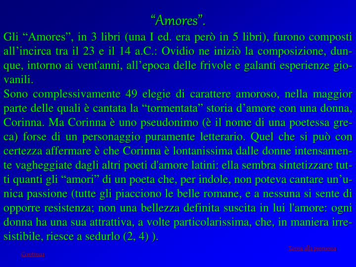 """""""Amores""""."""