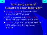 how many cases of hepatitis c occur each year