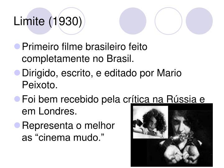 Limite (1930)