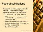federal solicitations1
