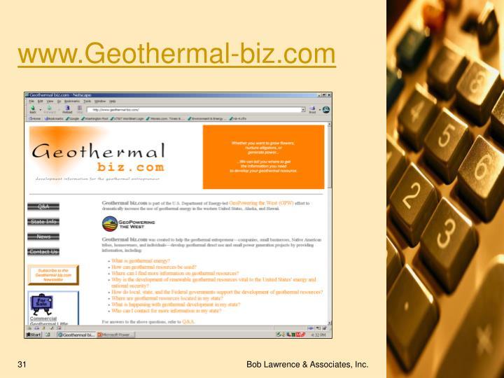 www.Geothermal-biz.com