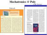 mechatronics @ poly1