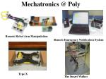 mechatronics @ poly2