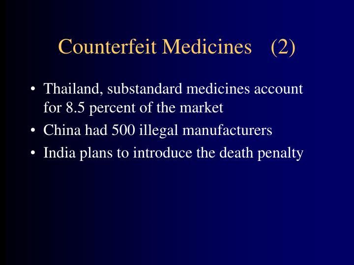Counterfeit Medicines(2)