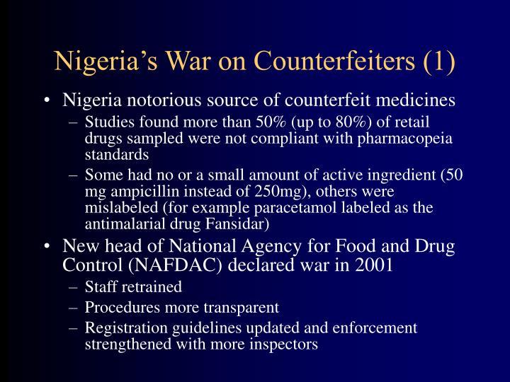 Nigeria's War on Counterfeiters (1)