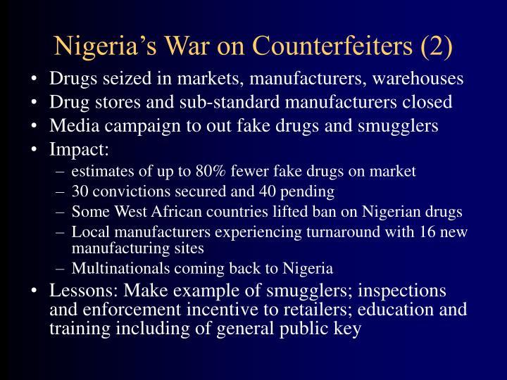 Nigeria's War on Counterfeiters (2)