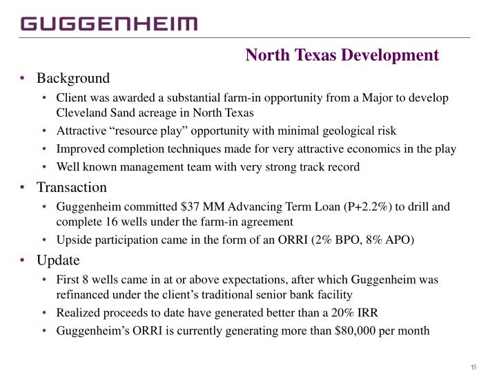 North Texas Development