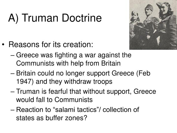 A truman doctrine