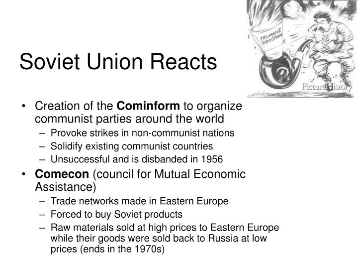 Soviet Union Reacts