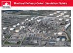 montreal refinery coker simulation picture