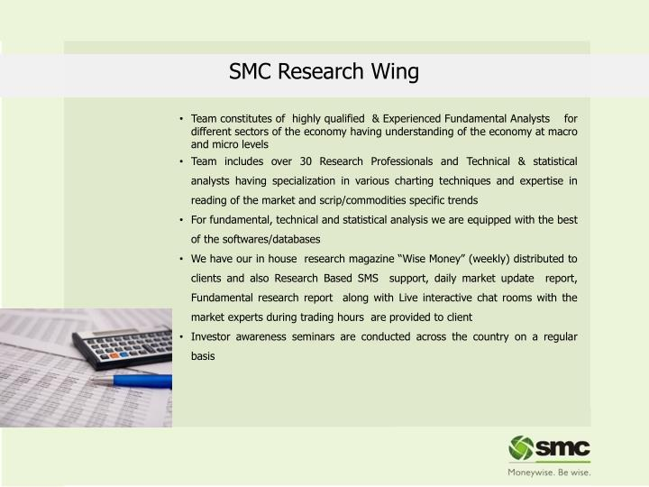 SMC Research Wing