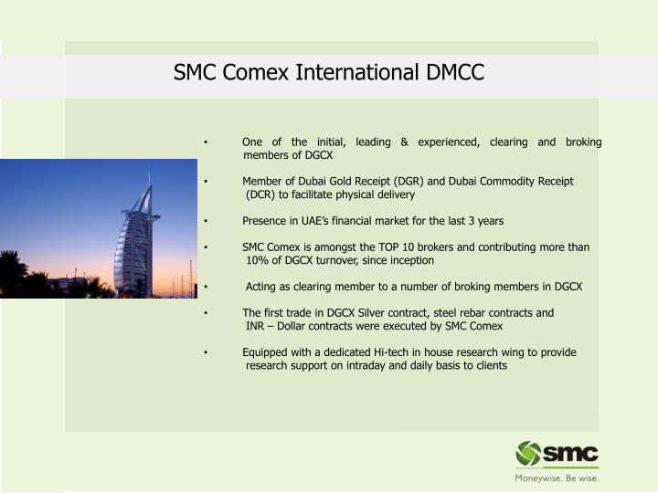 SMC Comex International DMCC