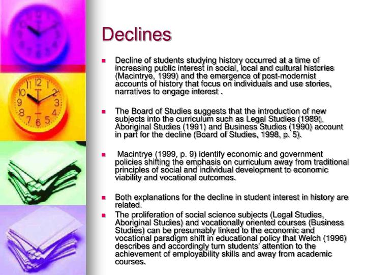 Declines