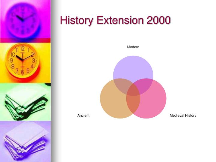 History Extension 2000