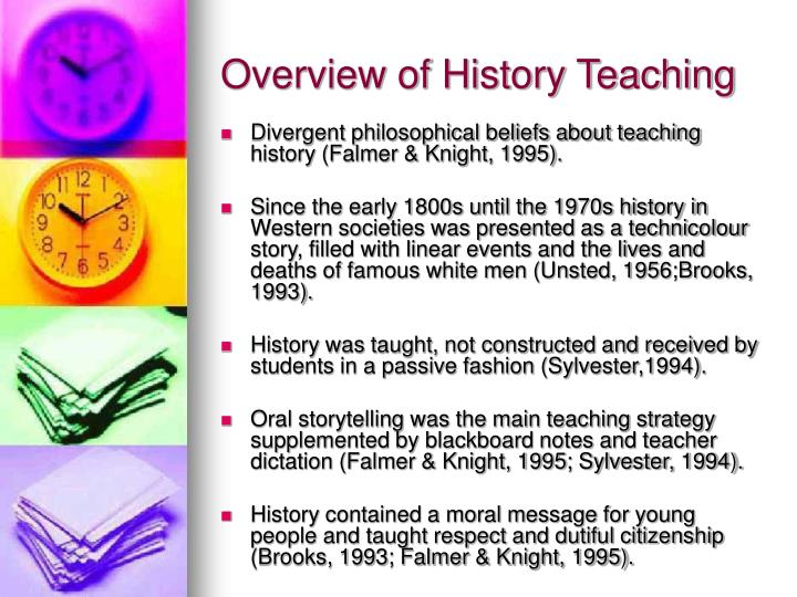 Overview of History Teaching