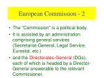 european commission 2