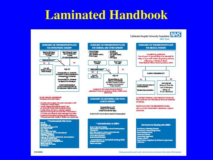 Laminated Handbook