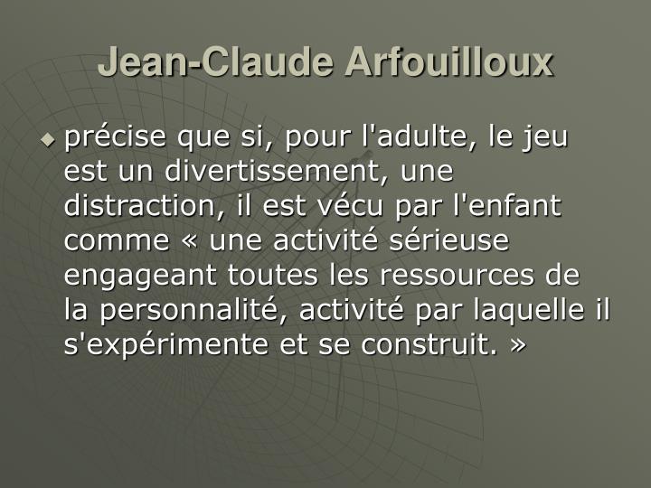 Jean-Claude Arfouilloux