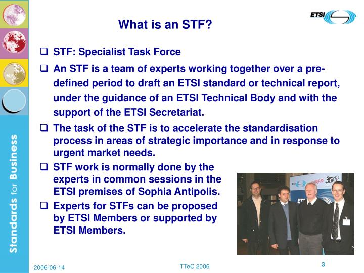What is an STF?