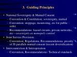 3 guiding principles