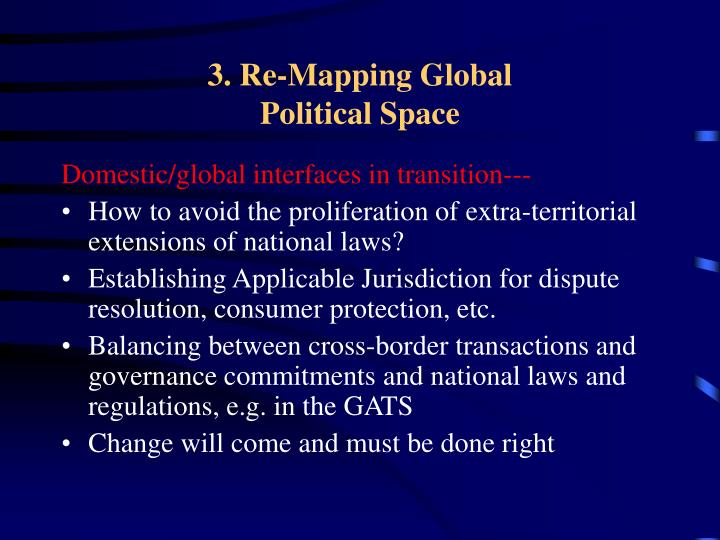 3. Re-Mapping Global