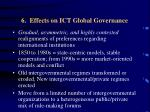 6 effects on ict global governance
