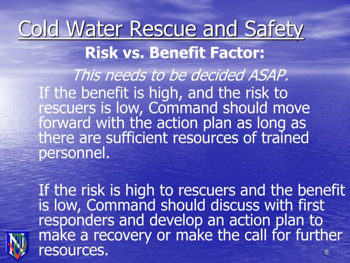 Cold Water Rescue and Safety