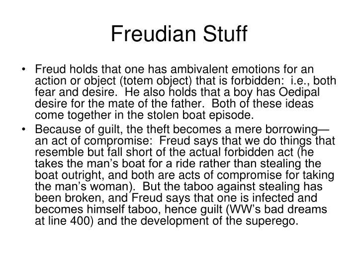 Freudian Stuff