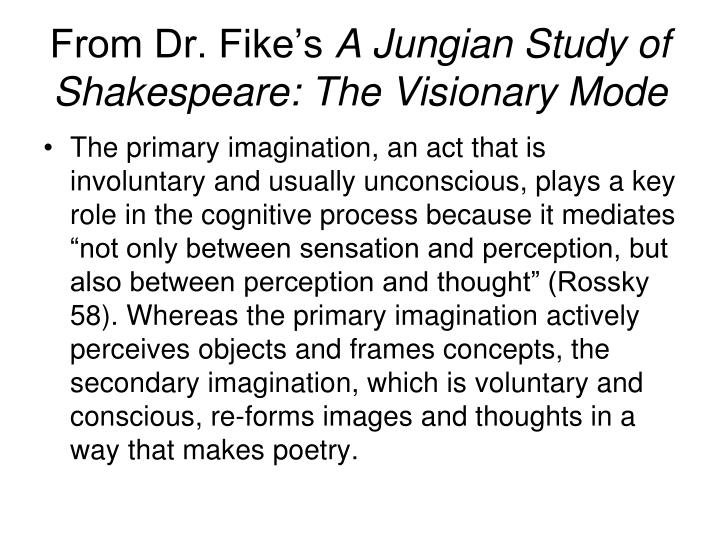 From Dr. Fike's
