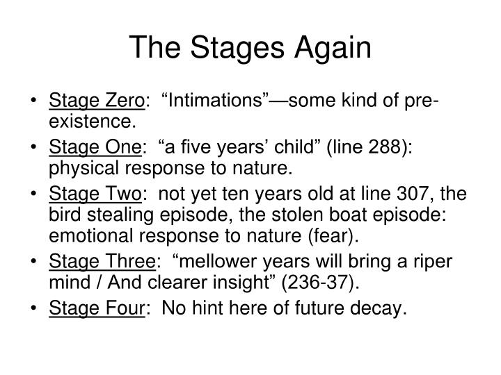 The Stages Again