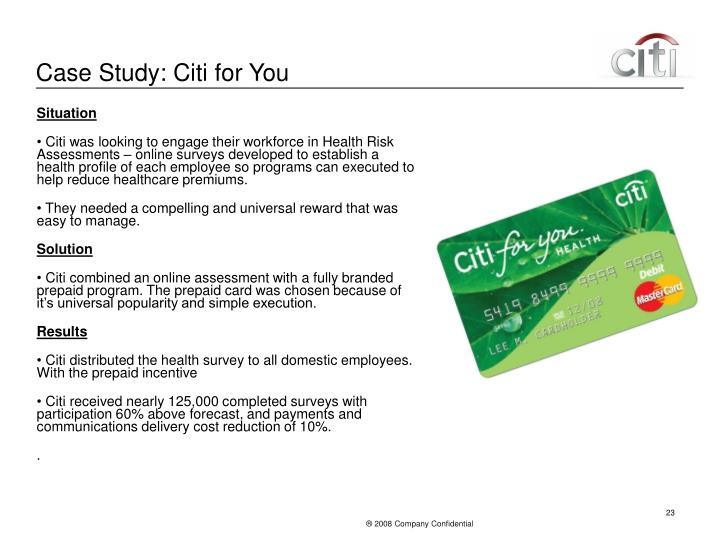 Case Study: Citi for You
