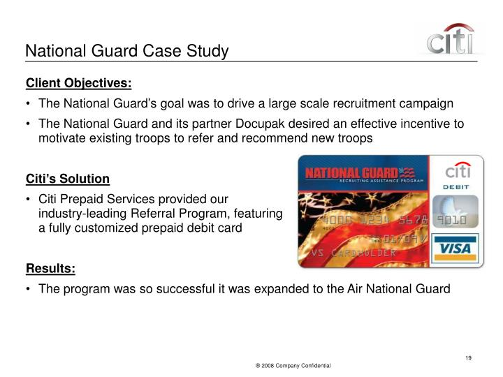 National Guard Case Study