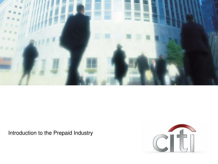 Introduction to the Prepaid Industry