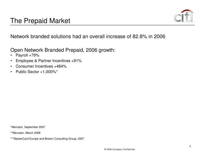 The Prepaid Market