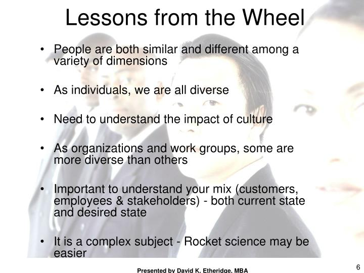 Lessons from the Wheel