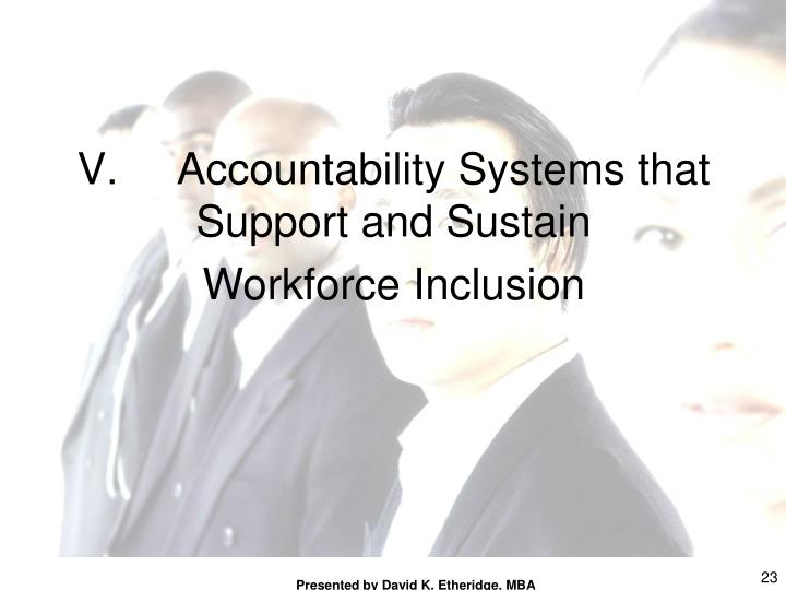 Accountability Systems that Support and Sustain
