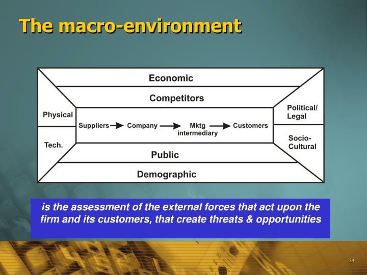 The macro-environment