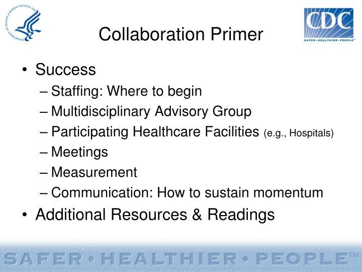 Collaboration Primer