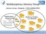multidisciplinary advisory group1